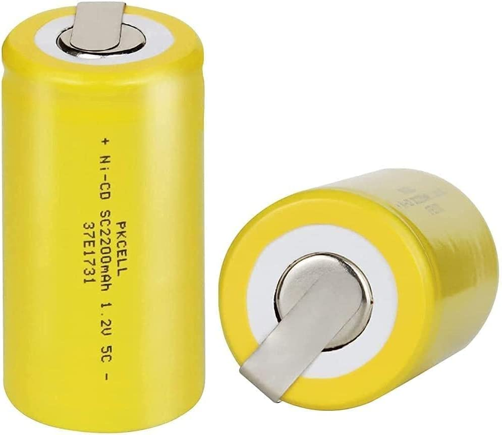 Ranking integrated 1st wholesale place Sub C 2200mAh Rechargeable Battery for Tabs Tools Power 4pc w