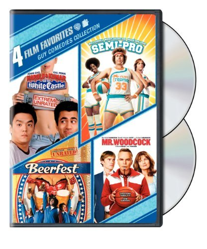 4 Film Favorites: Guy Comedies (Beerfest, Harold & Kumar Go to White Castle, Mr. Woodcock, Semi-Pro) by Various
