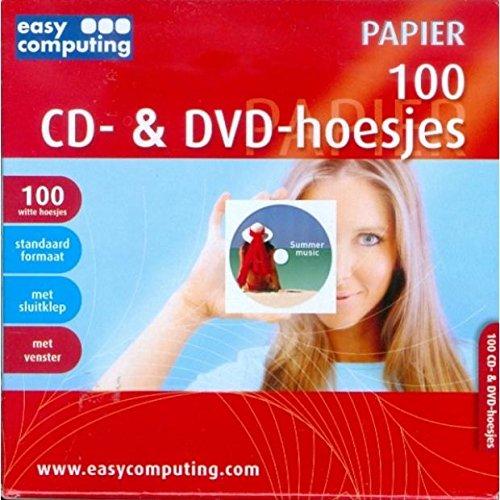 100 CD- & DVD-Hoesjes met Venster