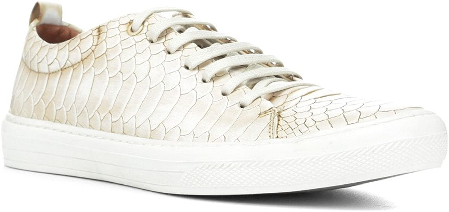 Donald J Pliner Mens Rand Leather Lace-Up Fashion Sneakers