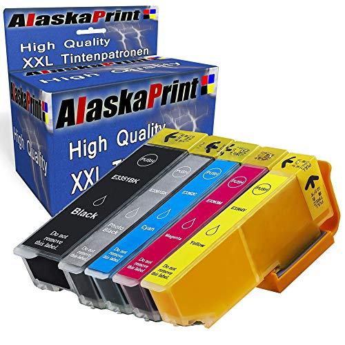 5 Druckerpatronen Komp. F. Epson Expression Premium XP-530 XP-540 XP-630 XP-635