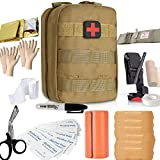 Emergency Trauma Tactical Kit - First Aid SurvivalKit - First Medical...