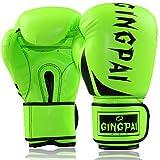 Guantillas Karate Guantes Kick Boxing Boxing Gloves For Kickboxing Boxing Bag Gloves Sparring Gloves Adult Boxing Gloves Junior Boxing Gloves Green,12oz