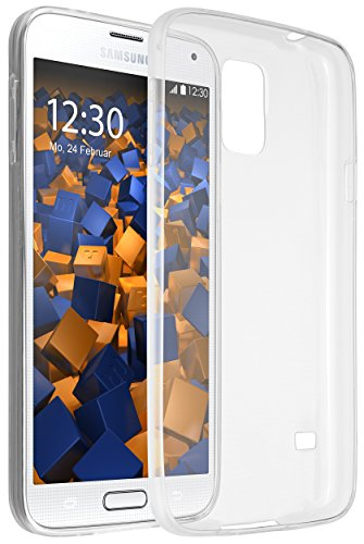 mumbi Hülle kompatibel mit Samsung Galaxy S5 / S5 Neo Handy Case Handyhülle dünn, transparent