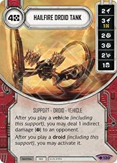 Star Wars Destiny: Way of the Force - Hailfire Droid Tank - Legendary