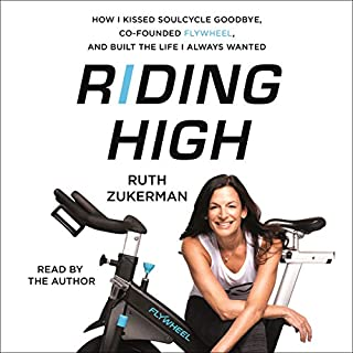 Riding High audiobook cover art