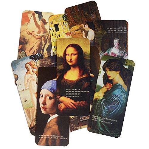 Segnalibri di The Renaissance Monalisa's Smile Creative Souvenirs Small Class Gift Gift Box Imballaggio