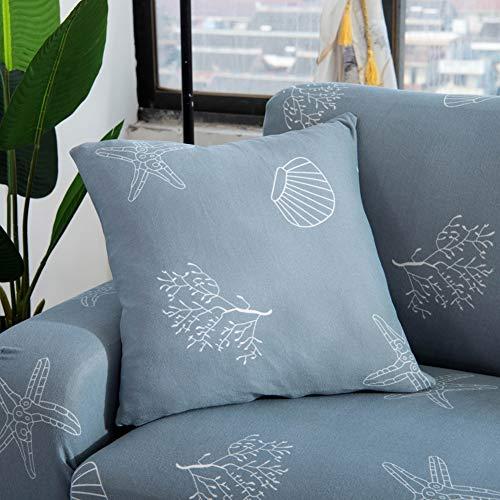 YAOJP Stretch Sofa Slipcover 1/2/3/4 Seater Gebreid Katoen Stoelhoezen Sofa Meubelbeschermer Machine Wasbaar
