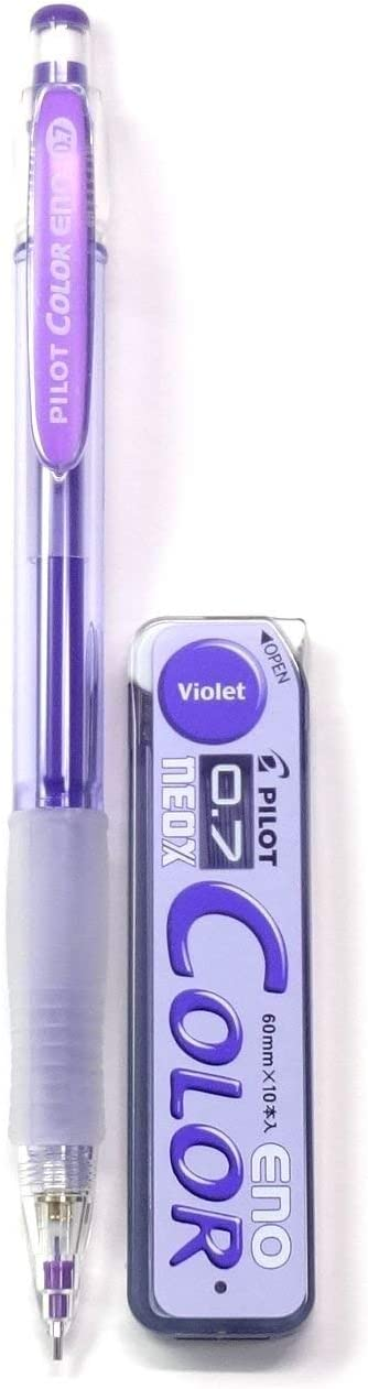 4 Set Pilot 誕生日プレゼント 1年保証 Color Eno Violet Mech Pencil + 0.7mm Mechanical