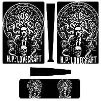 H P Lovecraft PS5 スイッチスキンシール 高級感 スタイリッシュ スキン 本体保護 フィルム 傷から守り ステッカー 薄型 貼り付け簡単 剥がれ 繰り返し使え 艶消し手触り ゲーム体験アップ