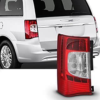 For 2011 2012 2013 2014 2015 2016 Chrysler Town & Country Red Clear Driver LH Left Side LED Tail Light