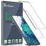 Ferilinso [2 Stück Samsung Galaxy S20 FE/M31S/A51 Panzerglas Schutzfolie Bildschirmschutzfolie [Kompatibel mit Handy Hülle] [2.8D Rand] [Blasenfrei]