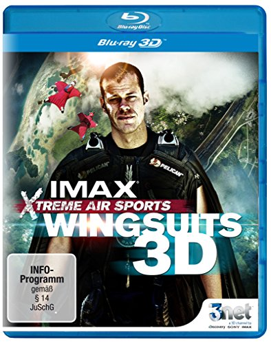 Wingsuits 3D (IMAX Xtreme Air Sports) [3D Blu-ray]