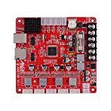 Ajcoflt Anet A1284-Base V1.7 Placa base de la placa base Placa base para Anet A8 Plus DIY Auto ensamblaje Impresora de escritorio 3D Kit RepRap i3 Suministros de actualización 24V