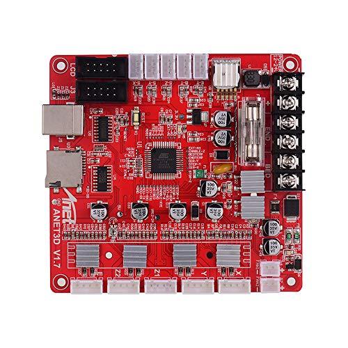 Leslaur Anet A1284-Base V1.7 Hauptplatine Hauptplatine für Anet A8 Plus DIY Selbstmontage 3D-Desktop-Drucker RepRap i3 Kit Upgrade Supplies 24V