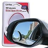 LivTee Blind Spot Mirror, Oval HD Glass...