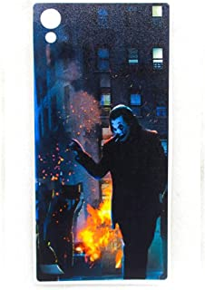 ملصق حماية خلفية من الجيلاتين بلون مطفي مع حماية للجوانب لموبايل سوني اكسبيريا M4 - موديل 2725606478876