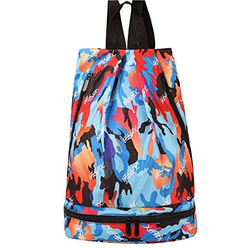 Borsa Bagno Borsa Palestra Separazione Secco E Bagnato Unisex Sport Yoga Impermeabile Beach Travel Swimsuit Backpack