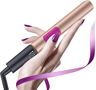 FURIDEN Mini Flat Iron For Short Hair, Mini Hair Straightener Travel Size, Travel Curling Iron Dual Voltage