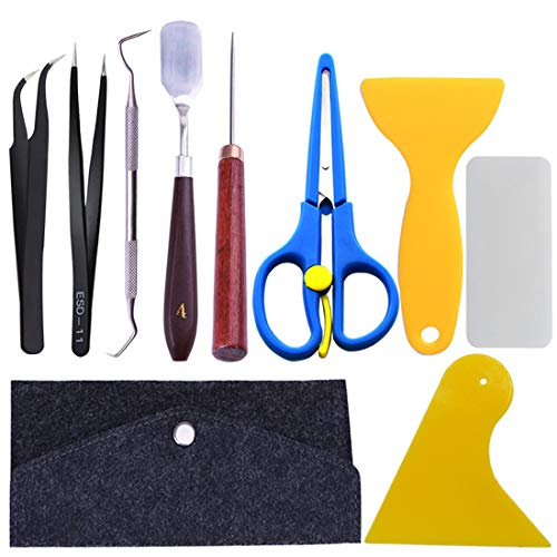 8 Pieces Craft Vinyl Weeding Tools Craft Basic Set Craft Vinyl Tools for ORACAL, Siser, Silhouette and Cameo