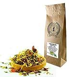 KLOSTER KUR - Té de hierbas de gluco, 100 g, con quemador, hojas de olivo, diente de león