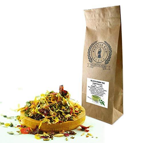 Gluco-Norm Kräuter Tee 300g von KLOSTER KUR mit Brennessel Olivenblätter Hagebutte Löwenzahn