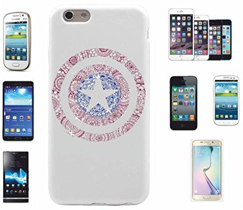 Carcasa para iPhone 6 +/6S + 'Mandala Star redondo motivo 14' | El Must have' para primavera. Los motivos alegres y coloridos mandala de alta calidad cautivan tu smartphone y atraen todas las miradas.