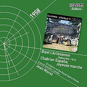 Bizet: L'Arlesienne - Chabrier: España/Joyeuse Marche
