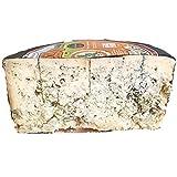 Queso Cabrales Denominación de Origen Protegida - Peso Aproximado 1200 gr - Elaborado con Leche Cruda de Vaca - Queso Galardonado en varias ediciones con el premio World Cheese Award - Queso Azul