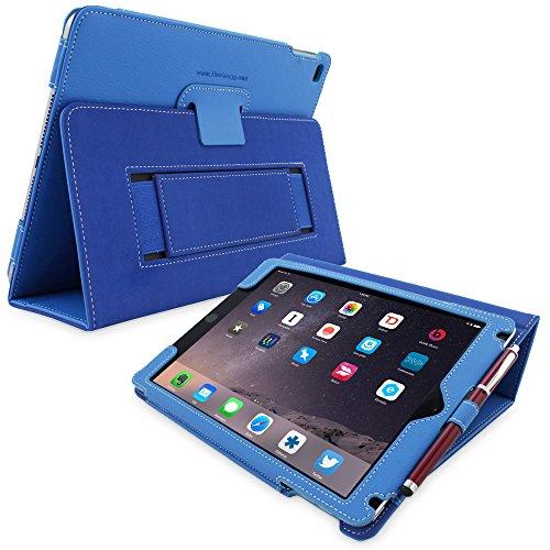 'thesnugg b00oonpfi69.7'cartella blu Custodia per Tablet–Custodie per Tablet (24,6cm (9.7), schienale, Blu, Cotone, Nubuck, poliuretano, Apple, iPad Air 2)