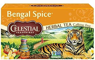Celestial Seasonings Bengal Spice Herbal Tea, 20 ct
