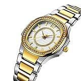 Tcsing Las Mujeres Relojes Mujeres Reloj de Manera Ginebra diseñador Reloj de señoras Marca del Cuarzo del Diamante del Oro Reloj de Pulsera Regalos para Las Mujeres,1