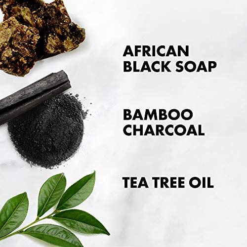 SHEA MOISTURE African Black Soap Bamboo Charcoal Conditioner, 13 FZ