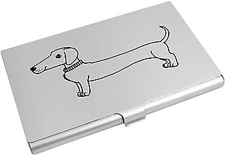 Azeeda 'Sausage Dog' Business Card Holder / Credit Card Wallet (CH00006815)