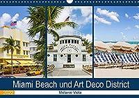 Miami Beach und Art Deco District (Wandkalender 2022 DIN A3 quer): Der Hotspot in Florida (Monatskalender, 14 Seiten )