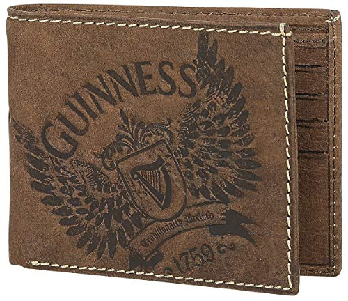 Guinness Wings Uomo Portafoglio standard pelle