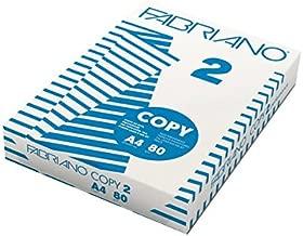 Fabriano Carta per Fotocopie Copy 2, Formato A4, 80 gr, Confezione da 5 risme da 500 Fogli