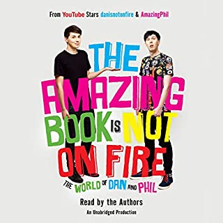 The Amazing Book Is Not on Fire audiobook cover art