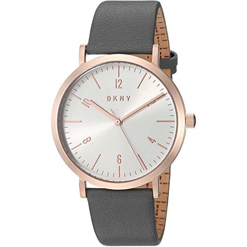 DKNY NY2652 - Reloj analógico de Cuarzo con Correa de Piel