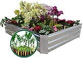 Best Budget Pick MI0512 Galvanized Steel Raised Garden Bed