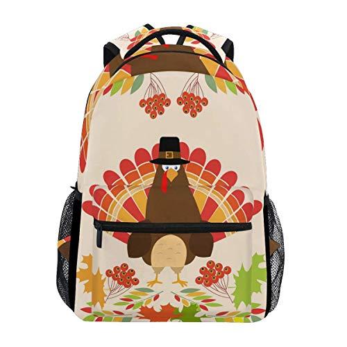 Schulrucksäcke, Danksagungskarte, Truthahn-Büchertasche, Tasche für Mädchen, Kinder, Elementar