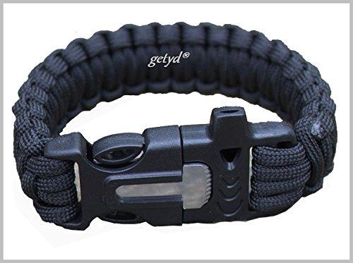 Survival Armband Paracord Kit zum Überleben