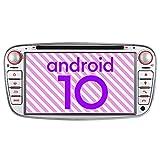 Junhua Eingebautes Carply DSP Android 10.0 2GB+32GB DVD GPS Autoradio Navigation für Ford Mondeo...