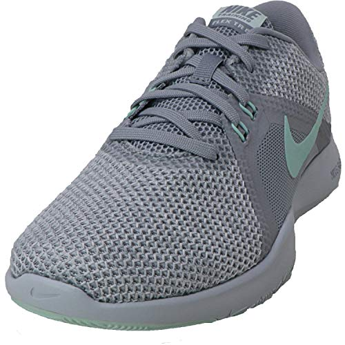 Nike Damen flex trainer 8 cross 7 uk wolf grau igloo weiß platinum