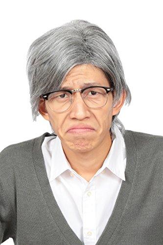 『Party City カツランド バラエティグッズ 白髪おじいさん ユニセックス グレー』の1枚目の画像