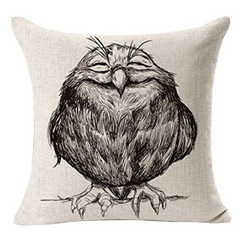 NPRADLA Kissenbezug modern Vintage weiche Kissenhülle Sofa Taille Throw Cushion Cover Dekoration für Zuhause Cushion Cover 45 x 45 cm 45x45cm A