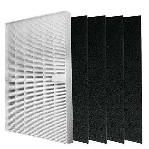 I clean for Winix 5300 5500 5500-2 C535 115115 WAC5300 WAC5500 WAC6300 5200-2 P300 6300 6300-2 & 9000 Winix Replacement Hepa Filter Includes a Hepa Filter and Four Carbon Pre-Filters.