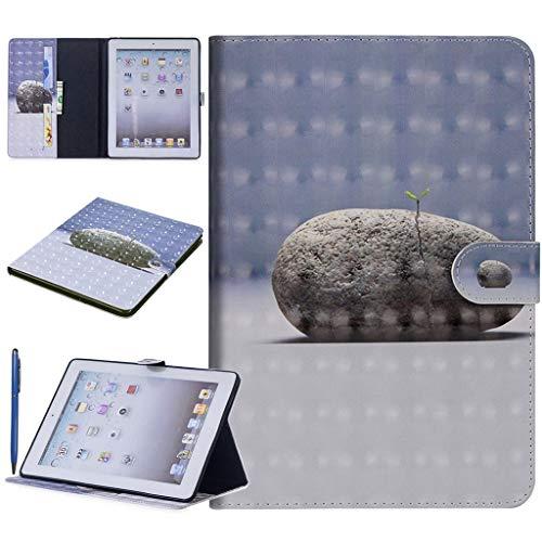 Careynoce 3D Emboss PU lederen Flip portemonnee beschermhoes voor Apple iPad iPad Mini 1/2/3 M10