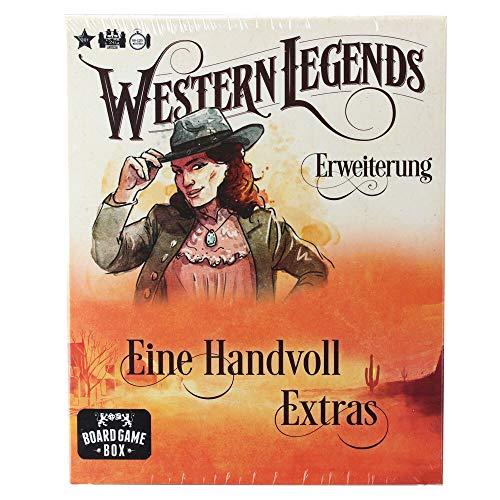 Board Game Box Western Legends - Eine Handvoll Extras 2.Erweiterung