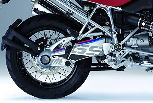 Kit de decoración e protección basculante Uniracing BMW R1200 04-'12, R1200GS Adv. '06-13', blanco